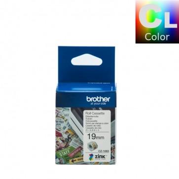 Etikete U Roli (Brother) CZ1003 COL/WH 5m*19mm / CZ-1003