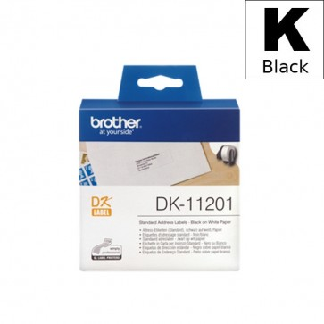 Etikete U Roli (Brother) DK11201  BK/WH 400kom*29mm*90mm / DK-11201