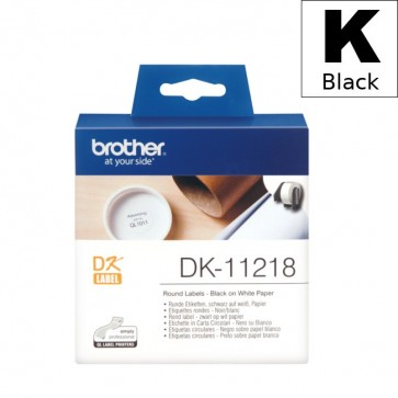 Etikete U Roli (Brother) DK11218  BK/WH 1000kom*24mm / DK-11218