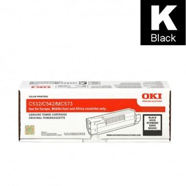 Toner (Oki) C532BKHY / 46490608