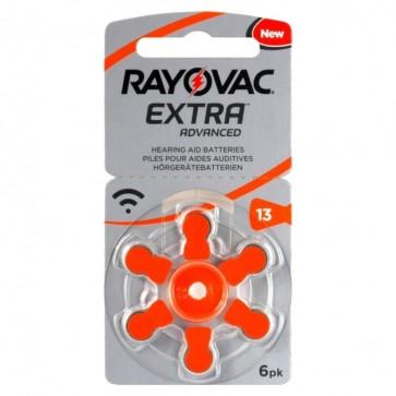 Baterija Rayovac Extra Advanced 13 / PR48 6 kom