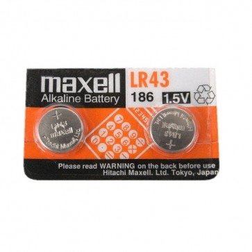 Baterija Maxell Cell Alkaline LR43 2 kom