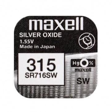 Baterija Maxell Silver Oxide 315/314 1kom