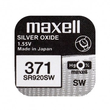 Baterija Maxell Silver Oxide 371/370 1kom