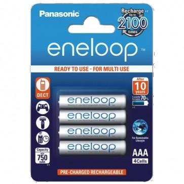 Baterija Punjiva Panasonic Eneloop AAA/LR03 DX2400 4 kom