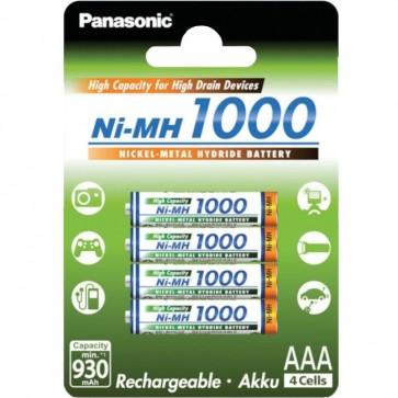 Baterija Punjiva Panasonic AAA/LR03 DX2400 4 kom