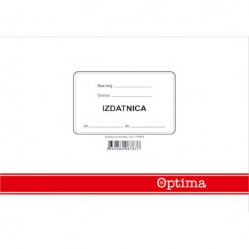 Izdatnica A5 EC-I-17/NCR OPTIMA P10