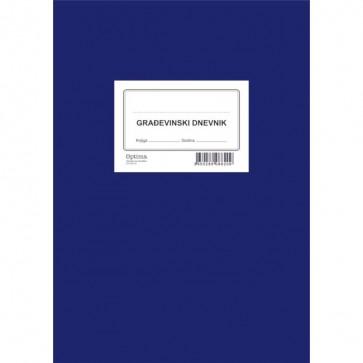 Građevinski dnevnik EC-VIII-10/NCR  OPTIMA P10