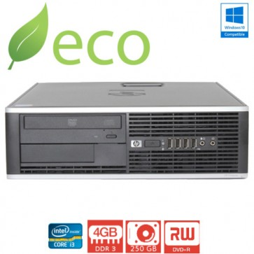 Refurbished Računalo HP ELITE 8100 I3-530 2,93GHz / 4GB DDR3 / 250 GB