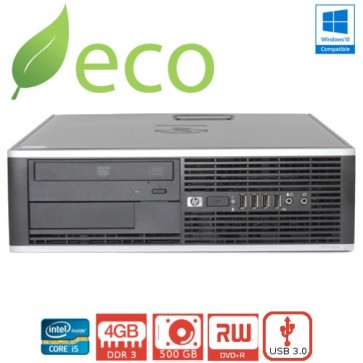 Refurbished Računalo HP Elite 8300 I5-3470 3,2GHz / 4GB DDR3 / 250 GB