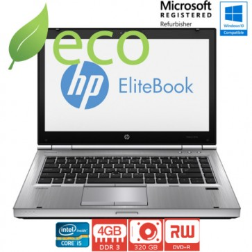 "Refurbished Prijenosno Računalo HP Elite Book 8470p I5-3210 3,1GHz / 14"" / 4GB DDR3 / 320 GB"
