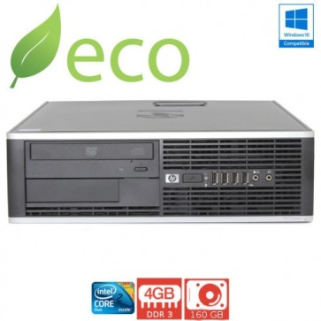 Refurbished Računalo HP DC5800 C2D E8400 3,0 GHz / 4GB DDR2 / 160 GB / SFF