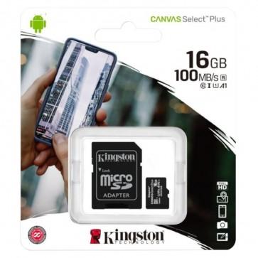 MicroSDHC Memorijska Kartica Kingston Canvas Select Plus 16GB