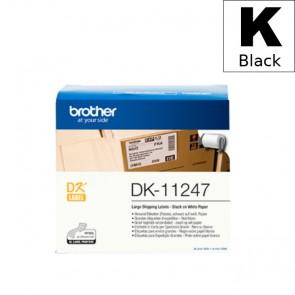 Etikete U Roli (Brother) DK11247  BK/WH 180kom*103mm*164mm / DK-11241