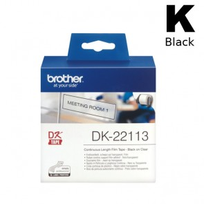 Etikete U Roli (Brother) DK22113 BK/CL 15,24m*62mm / DK-22113