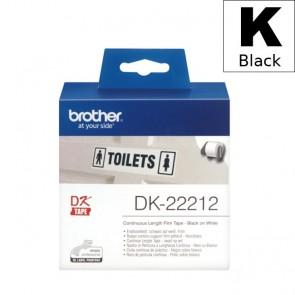Etikete U Roli (Brother) DK22212  BK/WH 15,24m*62mm / DK-22212