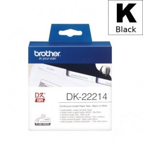 Etikete U Roli (Brother) DK22214  BK/WH 30,48mm*12mm / DK-22214