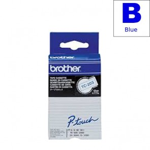 Ribbon (Brother) TC-203 BL/WH 7,7m*12mm/ TC-203
