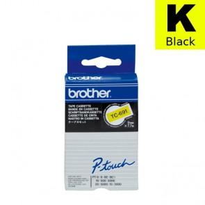Ribbon (Brother) TC-691 BK/YE 7,7m*9mm / TC691