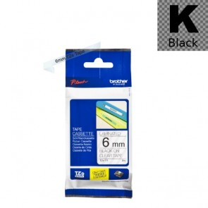 Ribbon (Brother) TZE-111 BK/CL 8m*6mm / TZE111