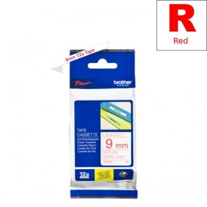 Ribbon (Brother) TZE-222 RE/WH 8m*9mm / TZE222