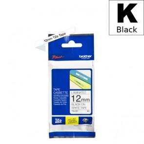 Ribbon (Brother) TZE-231 BK/WH 8m*12mm / TZE231