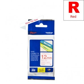Ribbon (Brother) TZE-232 RE/WH 8m*12mm / TZE232