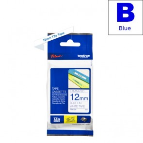 Ribbon (Brother) TZE-233 BL/WH 8m*12mm / TZE233