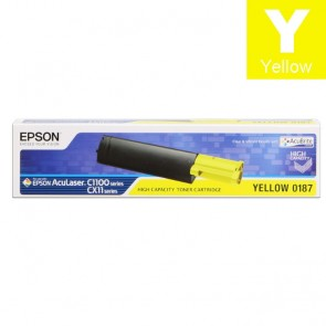 Toner (Epson) C1100YE HY / C13S050187
