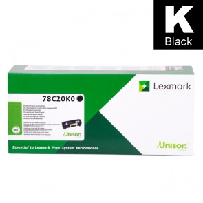 Toner (Lexmark) 782BKLY / 78C20K0