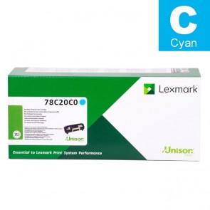 Toner (Lexmark) 782CYLY / 78C20C0
