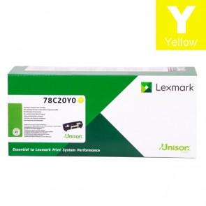 Toner (Lexmark) 782YELY / 78C20Y0