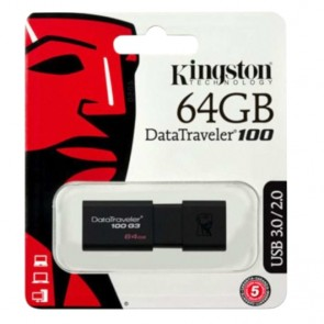 USB Stick Kingston 3.1 DT100 G3 64GB