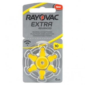 Baterija Rayovac Extra Advanced 10 / PR70 6 kom
