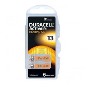 Baterija Duracell Activair 13/PR48 6 kom
