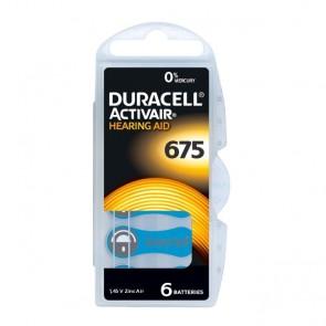 Baterija Duracell Activair 675 / PR44 6 kom