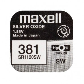 Baterija Maxell Silver Oxide 381/391 1kom