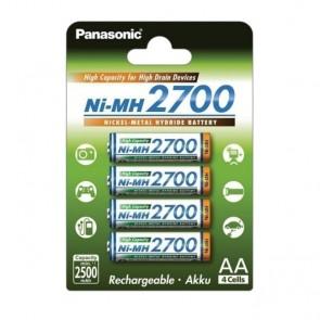 Baterija Punjiva Panasonic AA/LR6 DX1500 4 kom