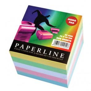 Blok kocka 9x9x9 - 5 boja, 800 listova PAPERLINE 82I  22867 P18