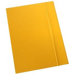 Fascikl kartonski/lak s gumicom 600gr OPTIMA P50