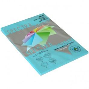 Papir fotok.SPECTRACOLOR A4 int.plavi TURQUOISE 80gr.100/1 P22 220