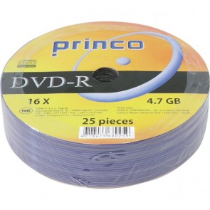 DVD-R 4,7 GB 16x PRINCO spindle 25/1 DROS2516X P1