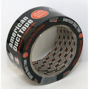 Selotejp DuctTape 50/25 crni 260-25C P1/24