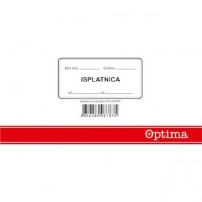Isplatnica blok EC-I-2/NCR OPTIMA P10