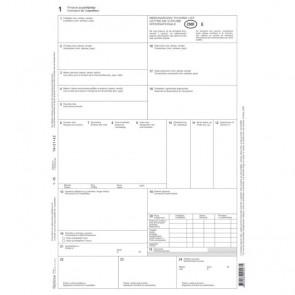 Međunarodni tovarni list EC-XIII-29 CMR OPTIMA P100/600