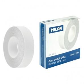 Obostrano ljepljiva traka na foliji 15mm/10m MILAN 80212 P10/120