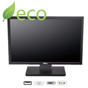 "Refurbished Monitor (Dell) P2210 / 21,5"" / VGA / DVI / Display port / USB"