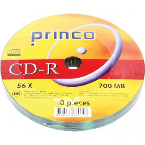 CD-R 80/700 MB PRINCO 56x spindle 80OS10 10/1