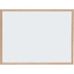 Ploča bijela magnetna zidna OPTIMA 45x60cm, drv.okvir 22364 P1/20