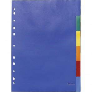 Index pvc 1-6 u boji A4 OPTIMA 28211 P10/180
